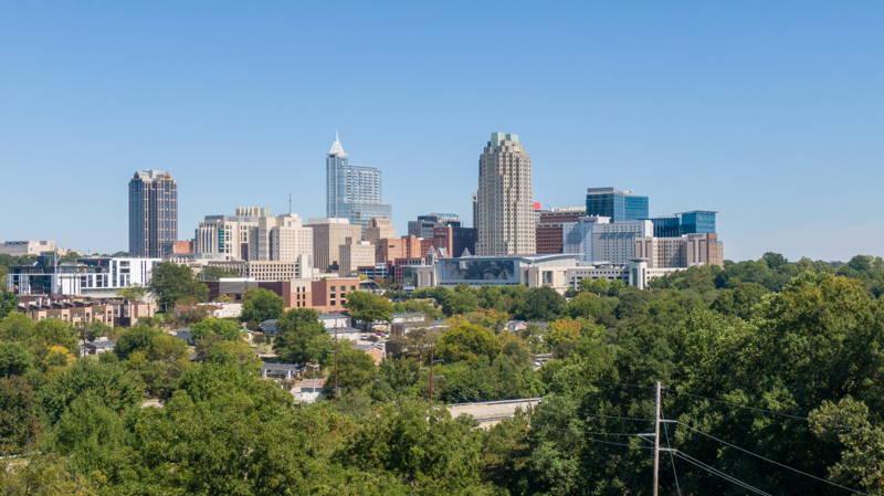 Raleigh skyline