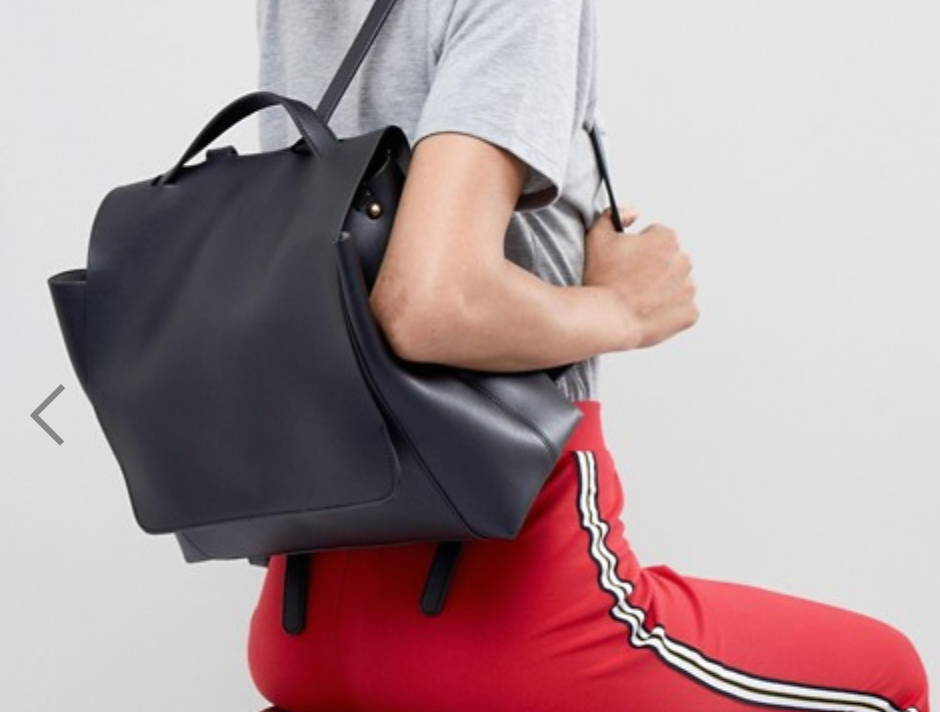 ASOS DESIGN large minimal backpack