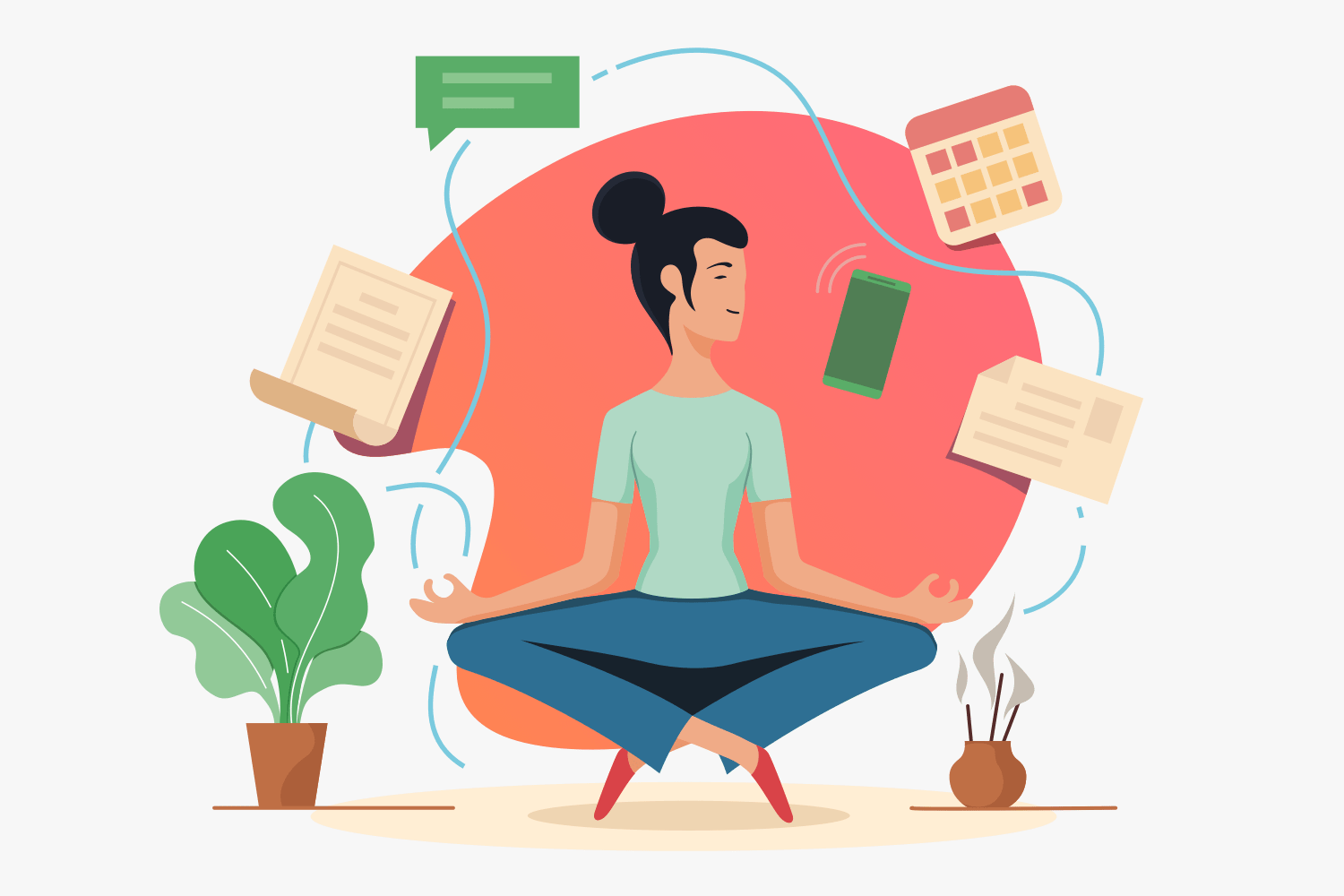 Library of work life balance picture transparent stock png