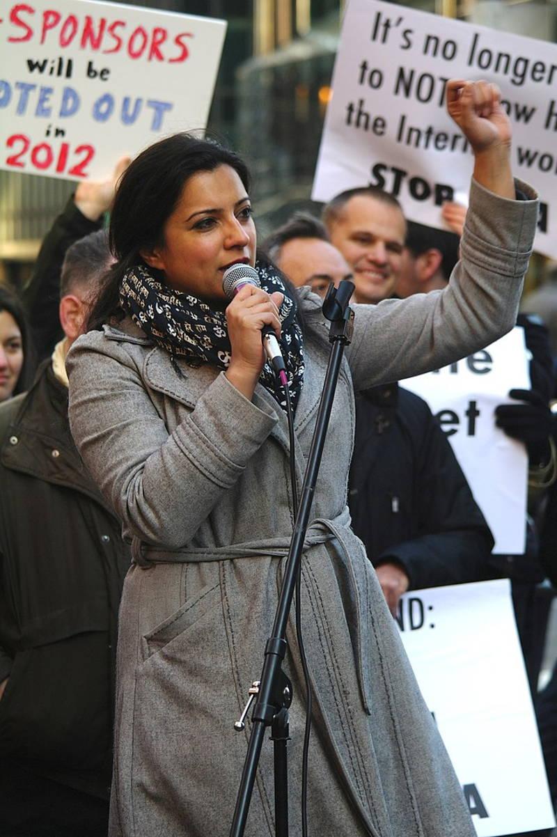 Reshma Saujani speaking
