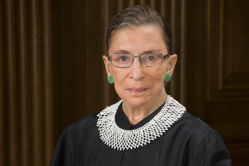 5 Times Ruth Bader Ginsburg Spoke Up for Women's Rights