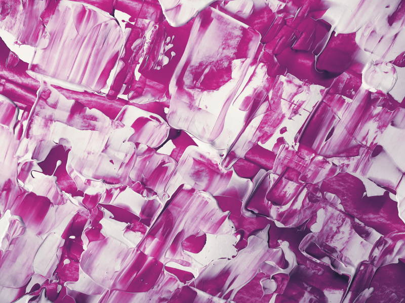 Pink/purple abstract paint background